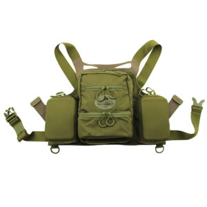 Green Chest Vest with white background
