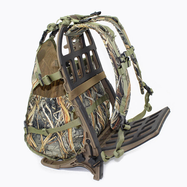 elite turkey hunter carrier with white background